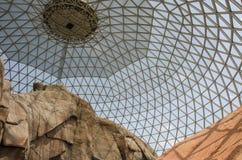 奥马哈` s亨利Doorly动物园沙漠圆顶 图库摄影