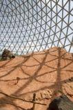 奥马哈` s亨利Doorly动物园沙漠圆顶 免版税库存图片