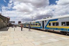 奥鲁罗火车站 免版税库存图片