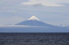 奥索尔诺火山火山 免版税图库摄影