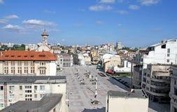 奥维迪乌广场康斯坦察罗马尼亚 免版税图库摄影