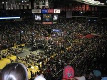 奥巴马的在UMD的竞选集会2008年 免版税库存图片
