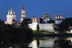 女修道院未婚莫斯科新的俄国 免版税图库摄影