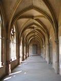 女修道院步幅 免版税库存图片