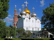女修道院莫斯科novodevichy俄国 免版税库存照片