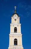 女修道院钟楼在Diveevo 库存图片