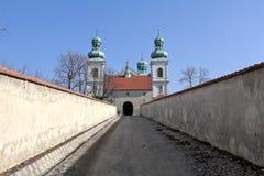 女修道院 库存图片