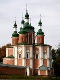 女修道院gustyn乌克兰 免版税库存图片