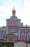女修道院novodevichiy的莫斯科 免版税库存图片