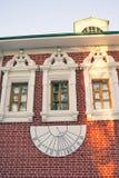 女修道院novodevichy的莫斯科 Sunclock 免版税库存照片