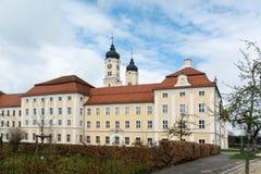 女修道院Roggenburg,德国 免版税库存照片