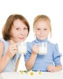 女儿妈妈 免版税图库摄影