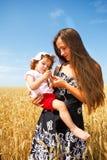 女儿母亲 图库摄影