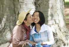 女同性恋的恋人 免版税图库摄影
