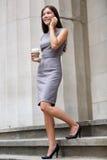 女商人律师专家 库存图片