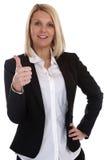 年轻女商人秘书上司经理职业赞许 库存照片