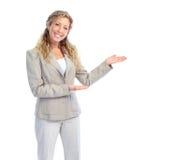 女商人 免版税库存照片