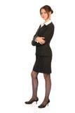 年轻女商人2 免版税库存图片