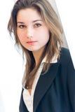 年轻女商人 免版税图库摄影