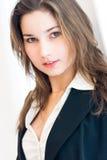 年轻女商人 库存图片