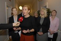 女士 英格STOJBERG_PARTY代表 免版税图库摄影