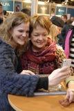 女士 GHITA诺比(GHITA Nï ¿ ½ RBY)丹麦电影明星 免版税图库摄影