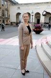 女士 Mette丹麦社会民主党党Frederiksen_leader  免版税库存照片