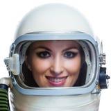 女太空人 图库摄影