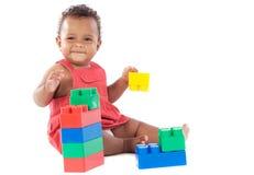 女婴使用 图库摄影