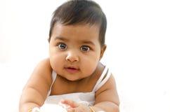 女婴印地安人 免版税图库摄影
