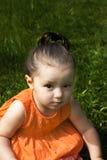 女婴年轻人 免版税库存图片