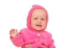 女婴粉红色 免版税图库摄影