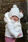 女婴结构 图库摄影