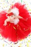 女婴芭蕾舞短裙 库存照片