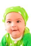 女婴 免版税库存图片