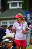 女子的职业高尔夫球运动员乐喜汤普森毕马威妇女的PGA冠军2016年 库存照片