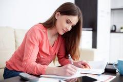 女学生学会 免版税库存图片