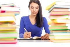 女学生文字 库存图片