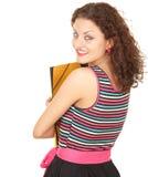 女学生年轻人 免版税库存照片