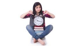 年轻女学生 免版税库存照片