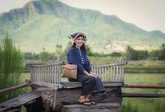 女孩亚洲人样式 免版税库存图片