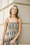 女孩俏丽微笑 图库摄影