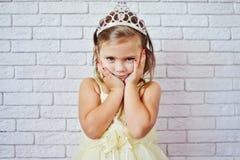 女孩公主甜点 免版税库存照片