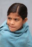 女孩印地安人 免版税库存图片
