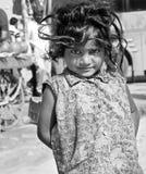 女孩印地安人 库存图片