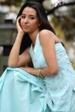 女孩印地安人 免版税图库摄影