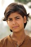 女孩印第安恶劣的纵向 图库摄影