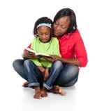 女孩和母亲 免版税图库摄影