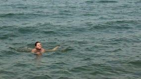 女孩在海运 影视素材