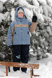 女孩子项在冬天 免版税库存照片